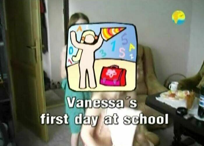 Vanessa First Day At School-Naturist Freedom