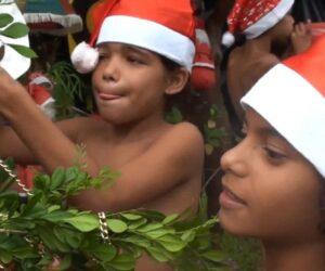 Brazil naturist festival celebrations. Film one