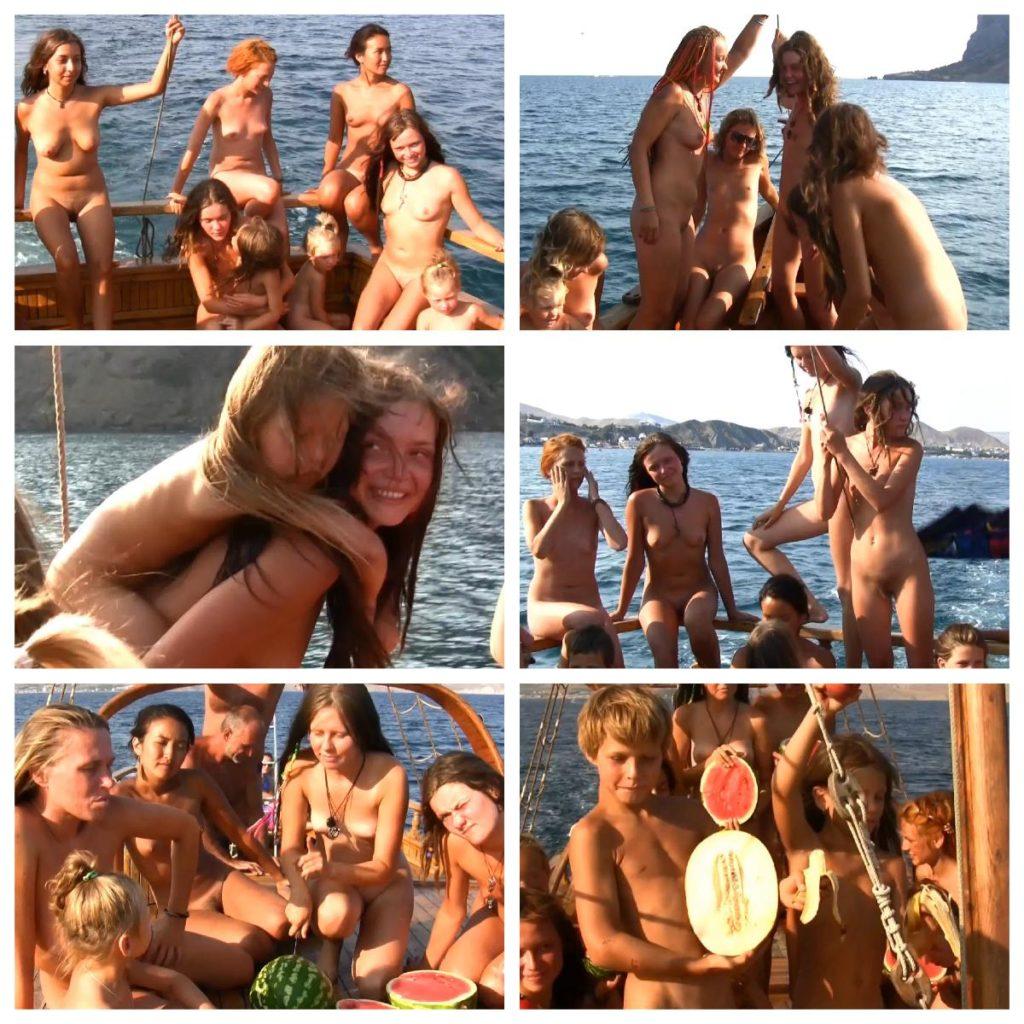 Nudist Sea Adventures - Sail With Me