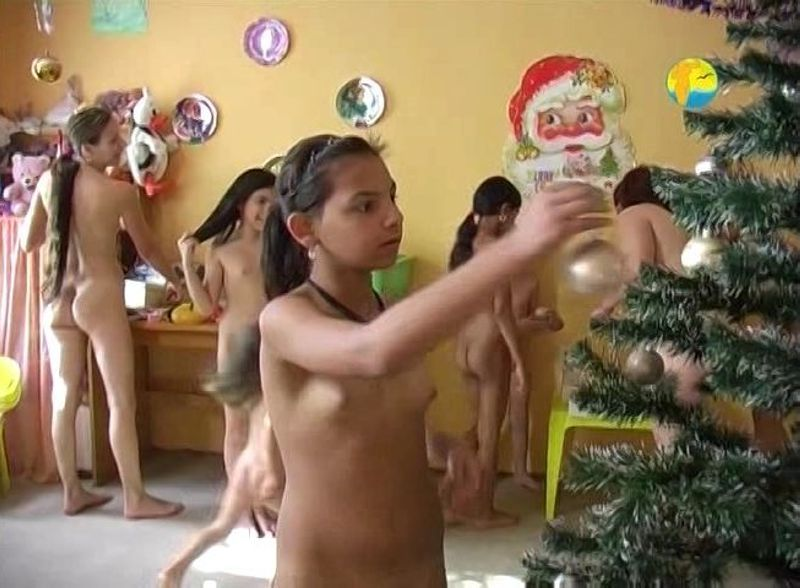 Nudist Family Party