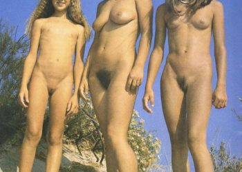 Vintage collection of family nudist pictures